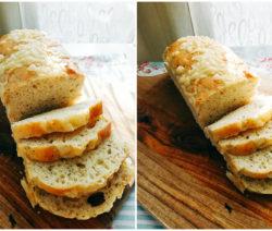 Хляб с босилек и чесън