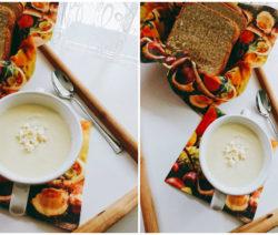 Крем супа от карфиол и картофи