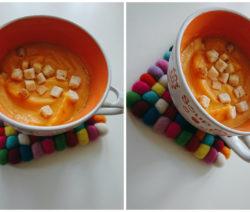 Крем супа от сладки картофи 2