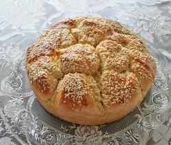 Питка със сирене и масло