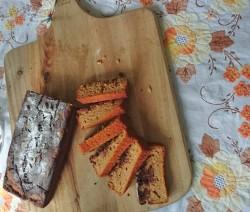 Ароматен кекс с тиква и какао