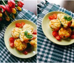 Мъфини с яйца